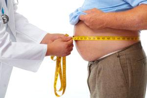карта ожирения